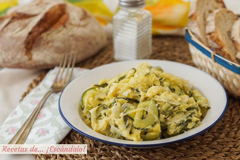 Zarangollo murciano, una receta tradicional de la huerta muy sencilla y rica