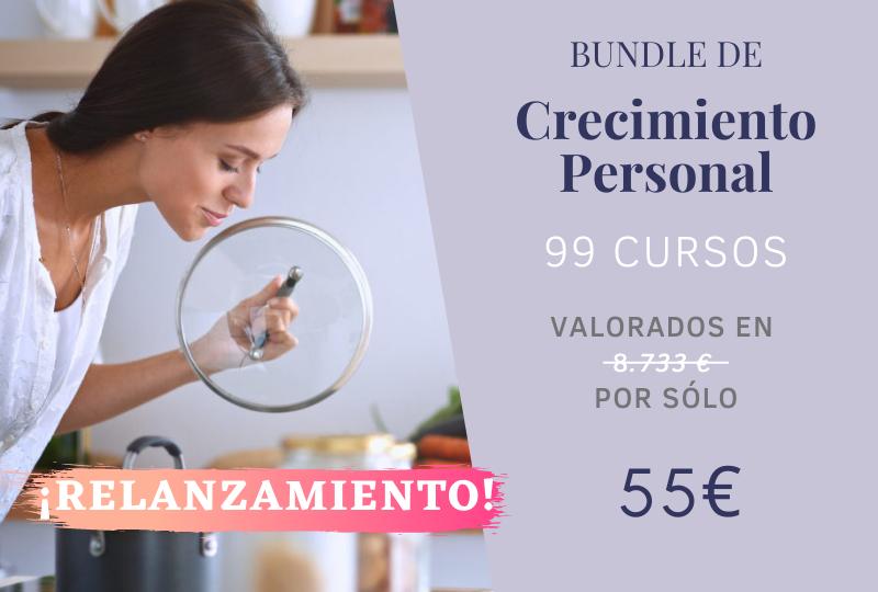 Bundle de Crecimiento Personal: 99 cursos por 55€
