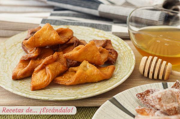 Como hacer pestinos banados en miel