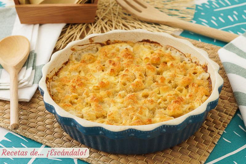 Mac and cheese o macarrones con queso, una receta de pasta irresistible