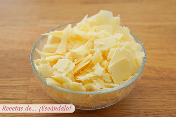 Quesos gouda y cheddar para mac and cheese