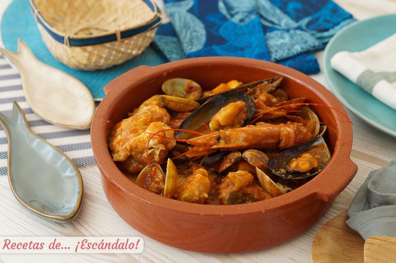 Zarzuela de pescado y marisco, un plato muy especial y exquisito