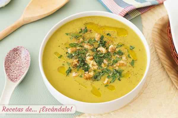 Como hacer crema de verduras o pure de verduras con thermomix, sabrosa y sencilla
