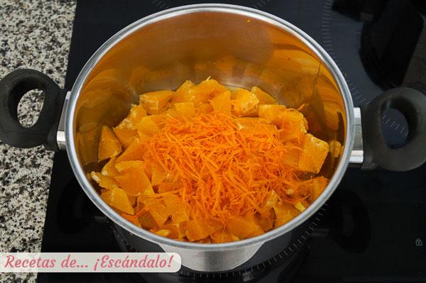 Ingredientes mermelada de naranja casera, amarga o no