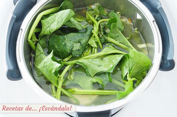 Verduras para crema o pure thermomix
