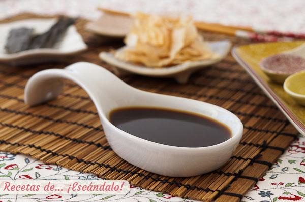Receta de salsa ponzu casera, un aderezo japones fantastico