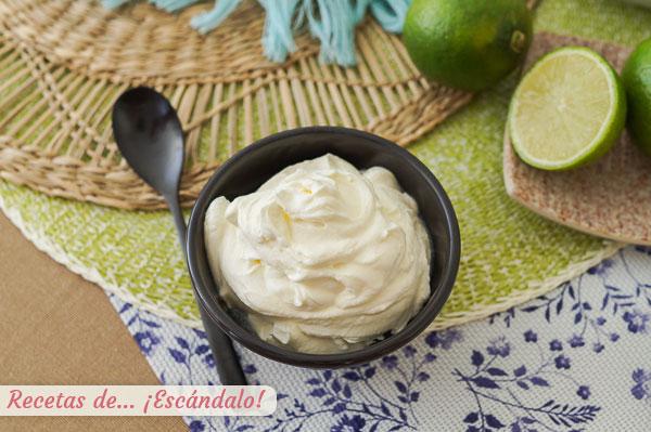 Como hacer crema agria, sour cream o nata agria casera, rapida y facil